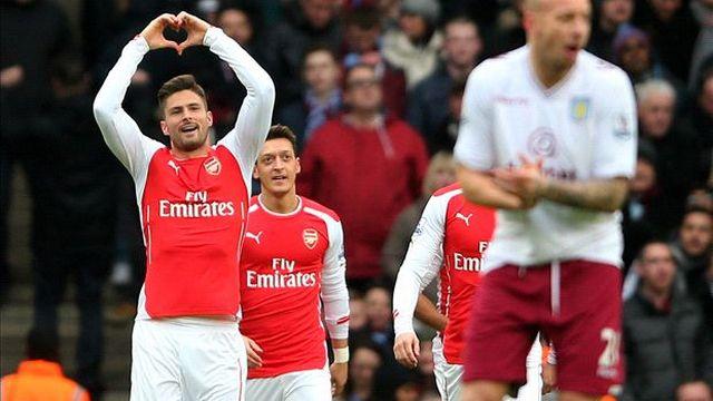 Arsenal acımadı...