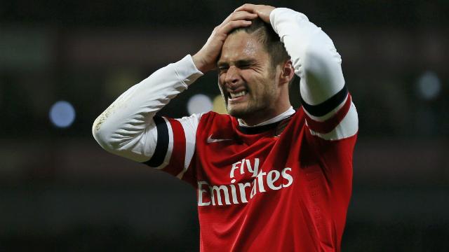 Arsenal'in yıldızı G.Saray'a karşı yok