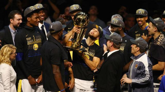Şampiyon Golden State Warriors!