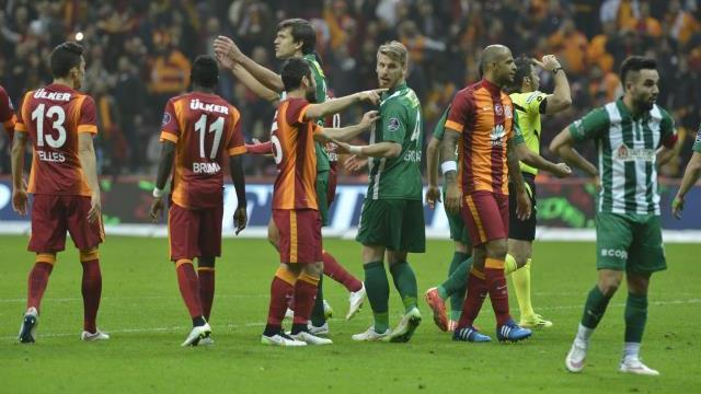 Galatasaray ile Bursaspor iki finale çıkacak