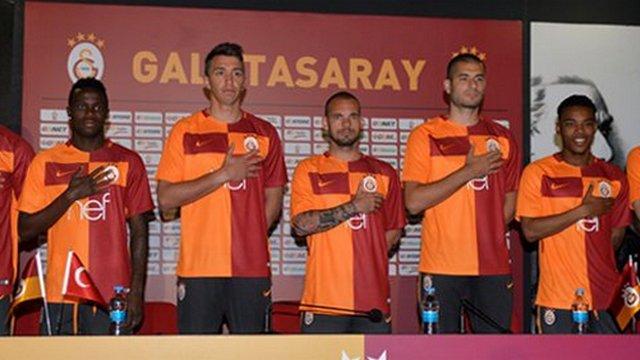 İşte Galatasaray'ın yeni forması