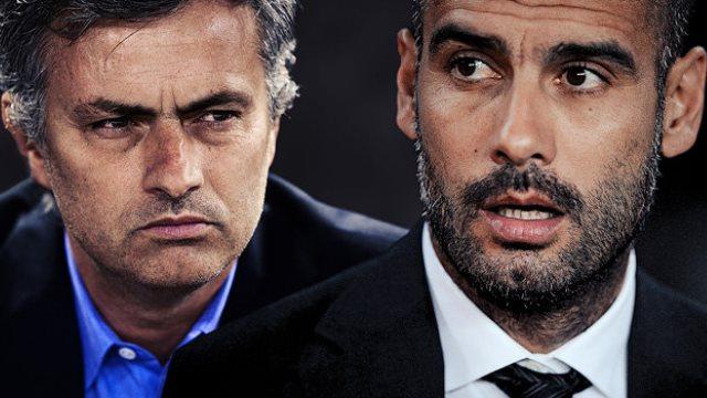 Guardiola ve Mourinho'dan derbi mesajı