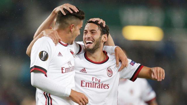 Hakan coştu Milan kazandı