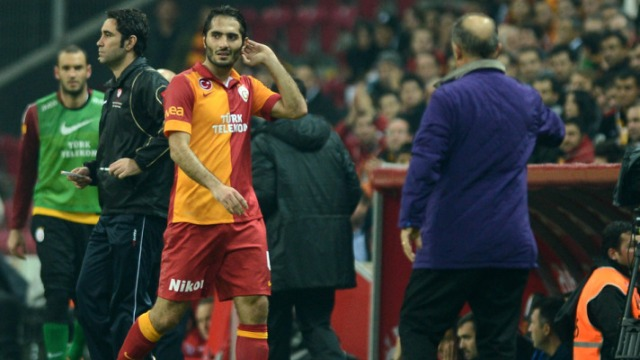 Arena'da Hamit'e Protesto