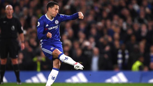 Hazard: Chelsea'de mutluyum
