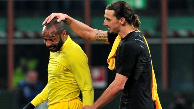 Ibrahimovic Henry'i geçti