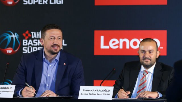 Lenovo basketbola sponsor oldu