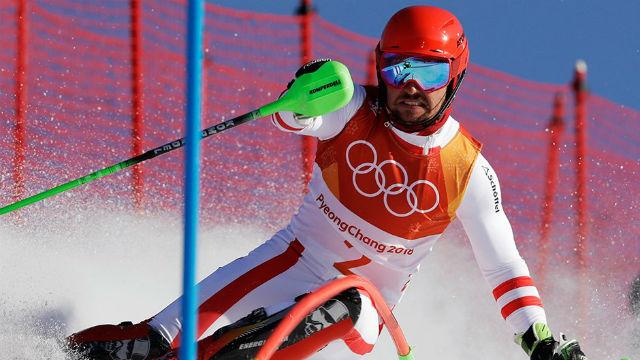 Hirscher ilk altın madalyasını aldı