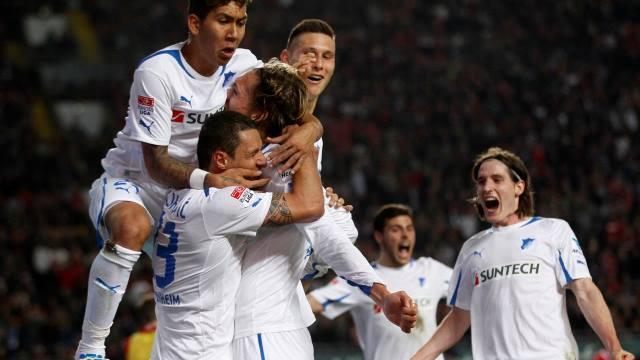 Hoffenheim Bundesliga'da Kaldı