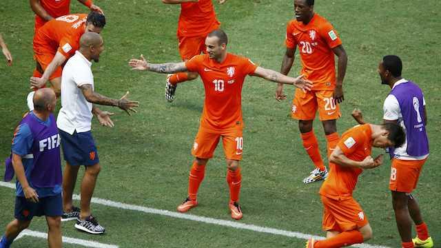 Sneijder: Ünlü olma mücadelesi değil
