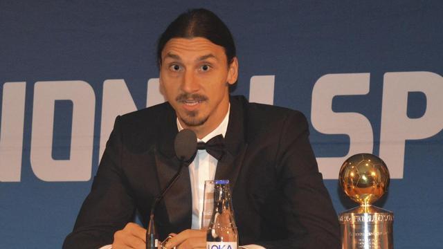 Yılın futbolcusu Ibrahimovic!