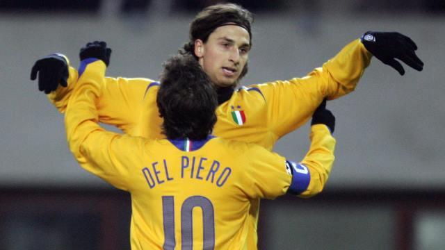 Ibrahimovic Del Piero'yu geçti