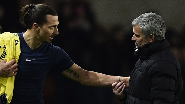 Ibrahimovic: Doğru isim Mourinho