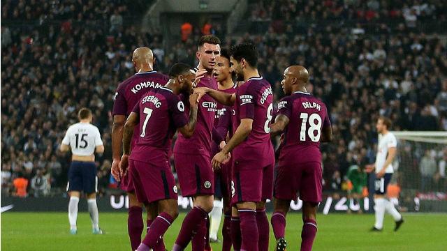 Manchester City Wembley'de kazandı