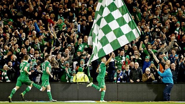 İrlanda bileti kaptı