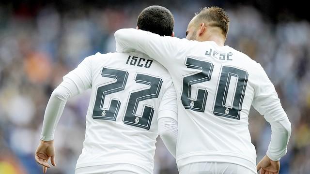 Real Madrid fişi ilk yarıda çekti