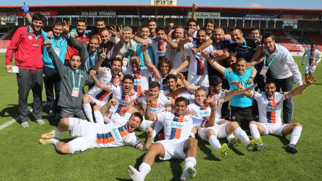 Boluspor'un gözü şampiyonlarda