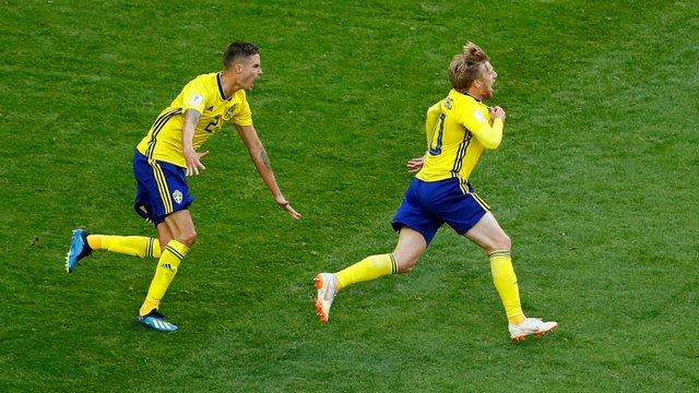 İsveç tek attı, çeyrek finali kaptı