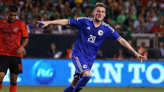 Bosna, Hajrovic ile güldü