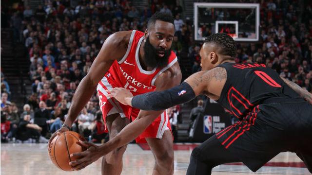 Rockets, Trail Blazers'a 'dur' dedi