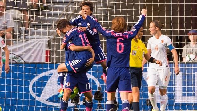Son çeyrek finalist Japonya