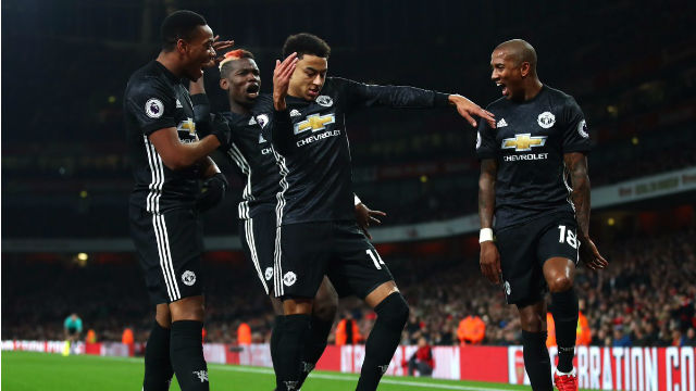 Arsenal oynadı United kazandı