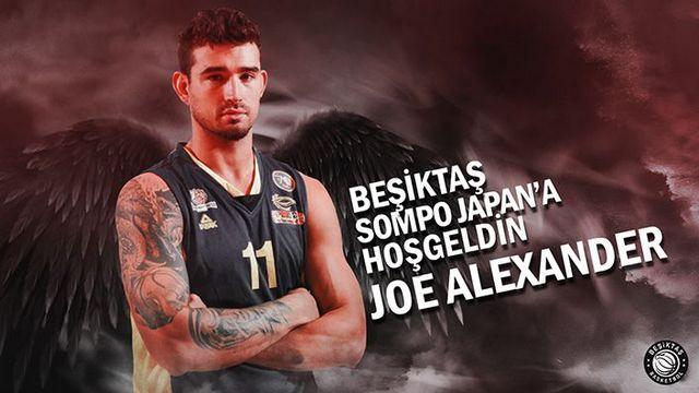 Joe Alexander, Beşiktaş Sompo Japan'da