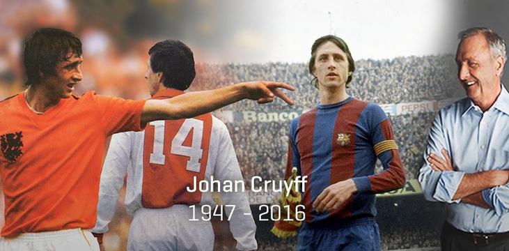 Futbol dünyası ağlıyor! Cruyff veda etti