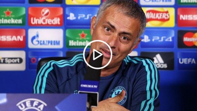 İZLE! Mourinho gazeteciyi fena haşladı