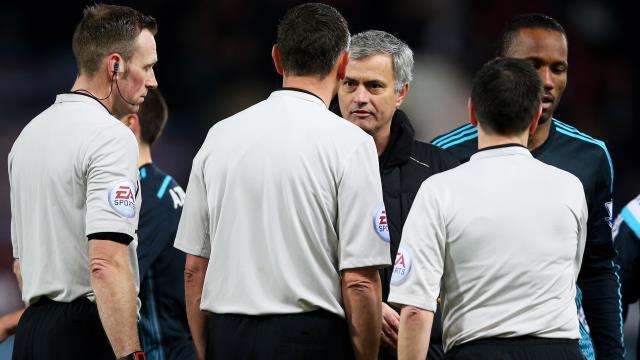 Mourinho: Burada hakemlik çok zor