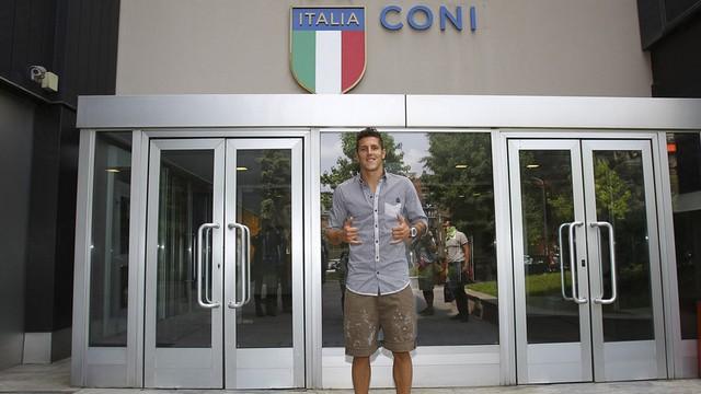 Yeni golcüsü Mancini'yi güldürdü