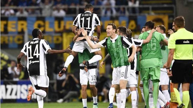 Juventus'tan müthiş geri dönüş