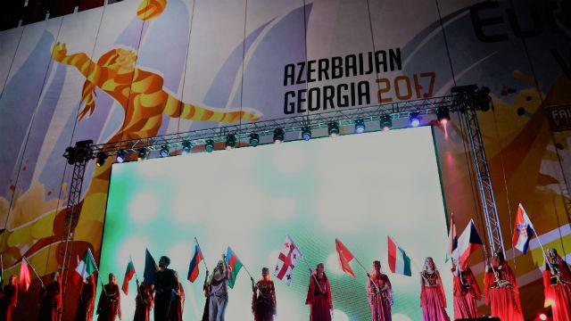 2017 Kadınlar EuroVolley başladı