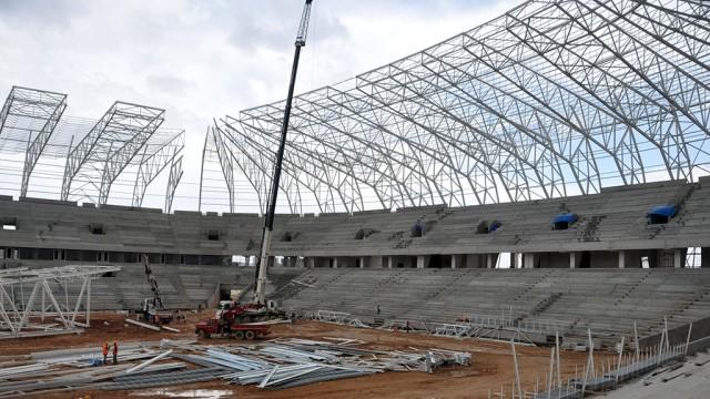 Gaziantep'in yeni stadı yükseliyor
