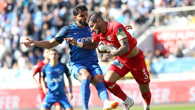 Antalyaspor, Kasımpaşa'yı devirdi
