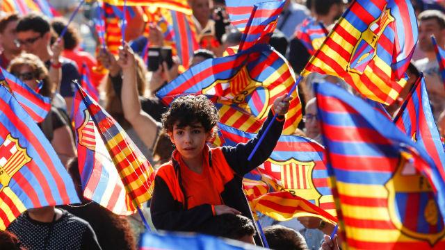 Katalonya yasağı kalktı