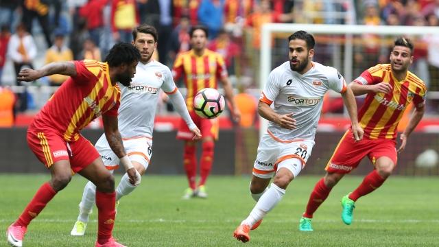 Kayserispor, evinde Adanaspor'u geçemedi