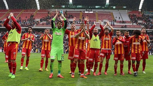 Kayserispor Süper Lig'de!