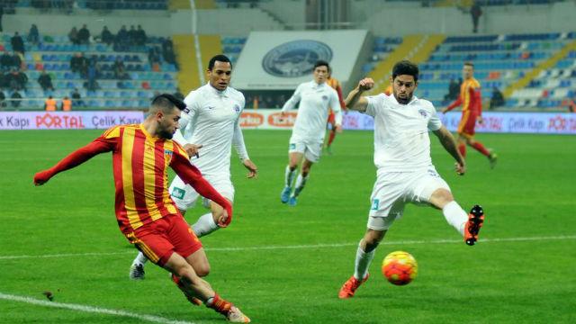 Kayseri'de gol sesi çıkmadı