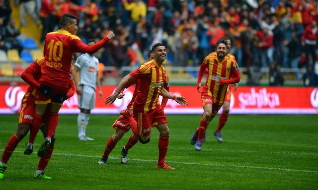Kayseri'de gol düellosu
