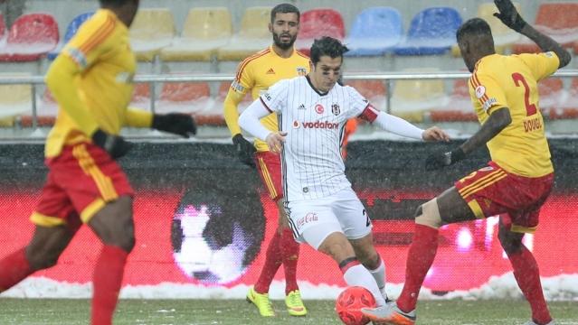 Kayseri'de karşılıklı goller