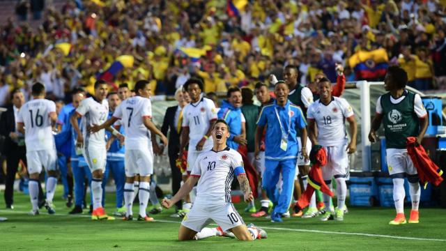 Kolombiya garantiledi, ABD ilki yaşadı