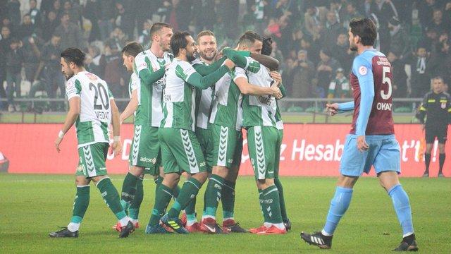 Trabzonspor, Konya virajını dönemedi