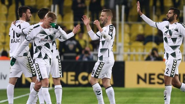 Fenerbahçe bu kez geri dönemedi