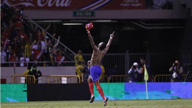 Kosta Rika Dünya Kupası'nda!