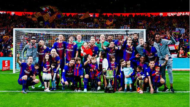 Kral Kupası Barcelona'nın