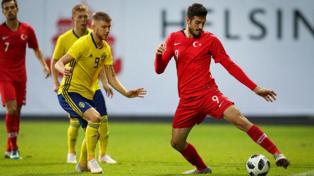 Ümit Milliler, İsveç'i tek golle geçti