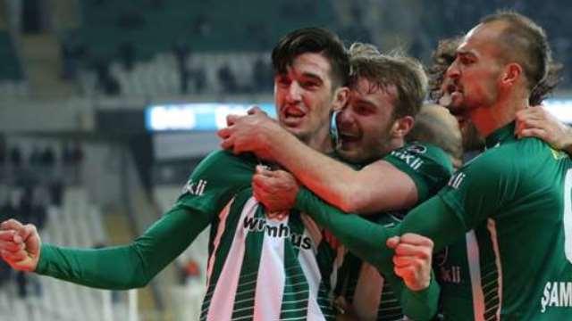Bursaspor 3 attı 3 aldı
