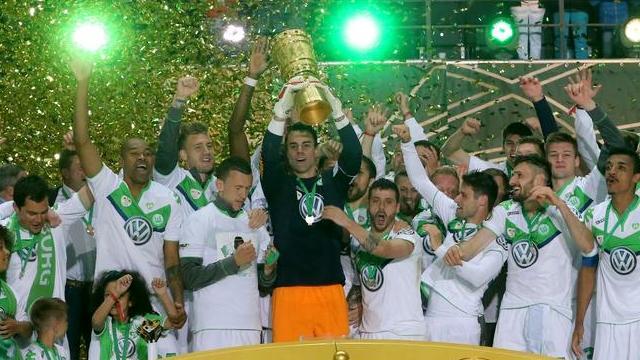 Wolfsburg'un büyük coşkusu!