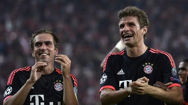 Bayern işi ikinci yarıda bitirdi